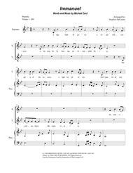 Immanuel (Duet for Soprano and Tenor Solo)