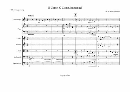 O Come, O Come Immanuel (piano feature)