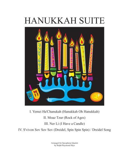 Hanukkah Suite (for Saxophone Quartet)