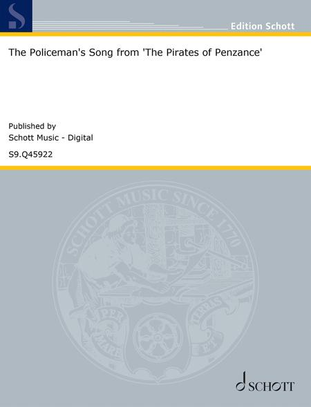 the policeman's song from 'the pirates of penzance' by sir  arthur seymour sullivan (1842-1900) - digital sheet music for downloadable  - download & print s9.q45922 | sheet music plus  sheet music plus