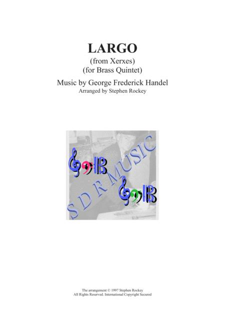 Largo (from Xerxes) Brass Quintet
