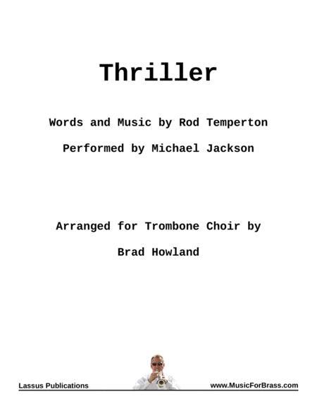 Thriller for Eight Trombones
