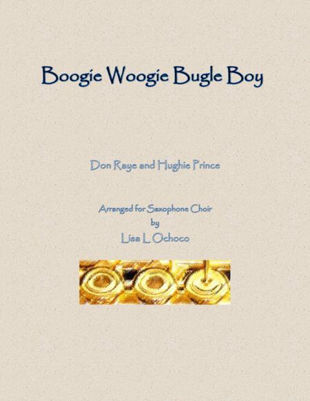 Boogie Woogie Bugle Boy for Saxophone Choir