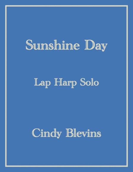 Sunshine Day, an original solo for Lap Harp, from my book