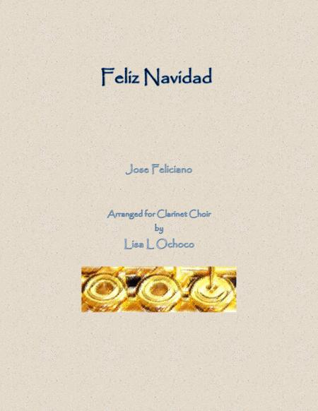 Feliz Navidad for Clarinet Choir