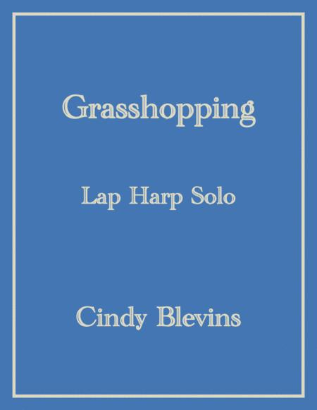 Grasshopping, an original solo for Lap Harp, from my book