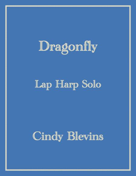Dragonfly, an original solo for Lap Harp, from my book