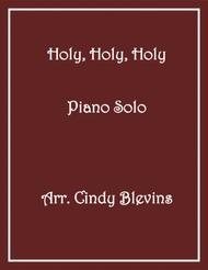 Holy, Holy, Holy, arranged for Piano Solo