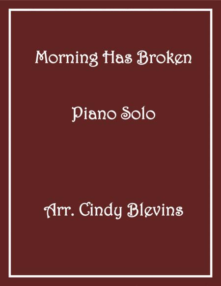 Morning Has Broken, arranged for Piano Solo