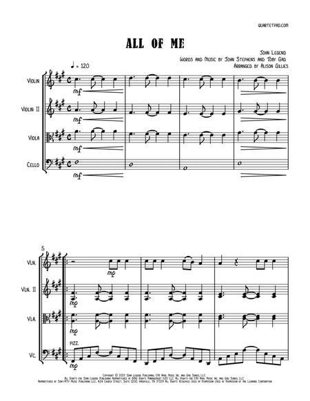 All Of Me - String Trio (vln/vla/vc)