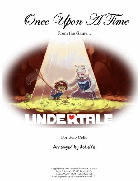 Once Upon a Time (from Undertale)