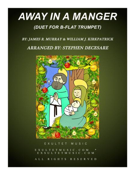 Away In A Manger (Duet for Bb-Trumpet)