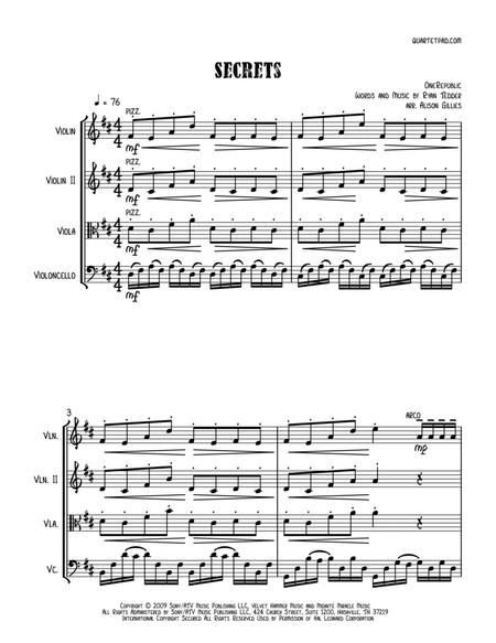 Secrets - String Trio (vln/vla/vc)