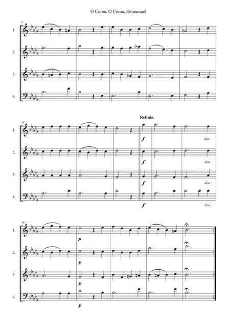 Preview O Come, O Come, Emmanuel By French Traditional (S0.242611 ...