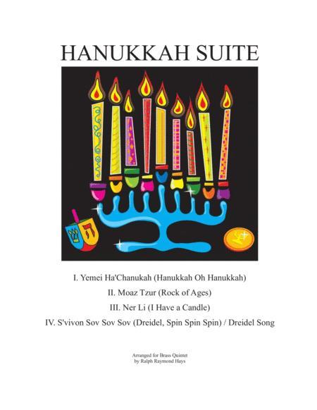 Hanukkah Suite (for Brass Quintet