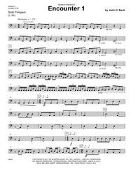 Encounters (6 Advanced Timpani Solos)
