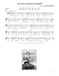 Are You Lonesome Tonight? (from The Daily Ukulele) (arr. Liz and Jim Beloff)