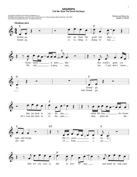 the judds sheet music to download and print  free-scores.com