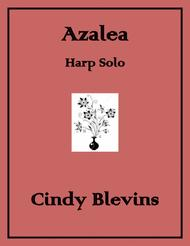 Azalea, an original solo for Lever or Pedal Harp, from my book
