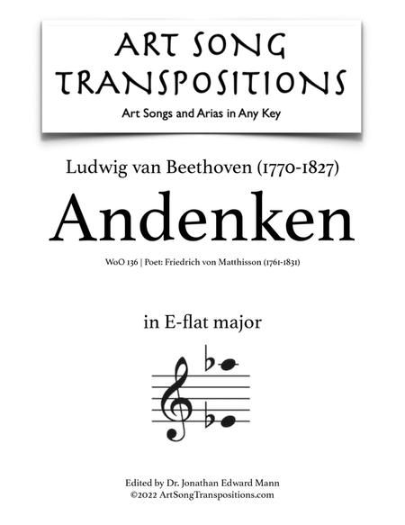 Andenken, WoO 136 (D major)