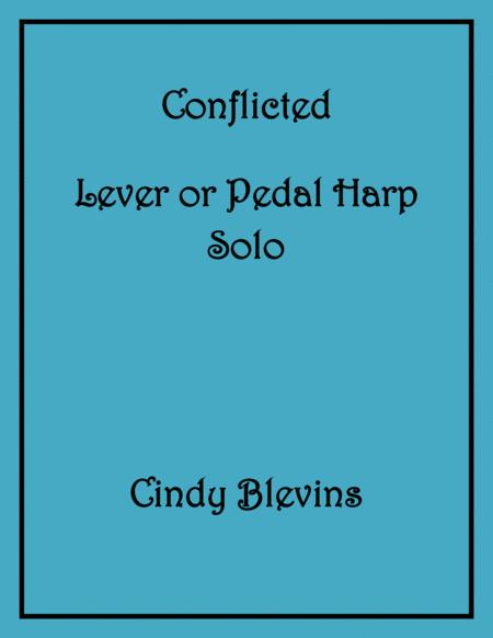 Conflicted, an original solo for Lever or Pedal Harp, from my book