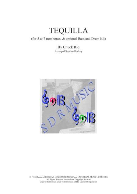 Tequila Trombone Quintet (opt. Bass,Kit,Trb6,Trb7)