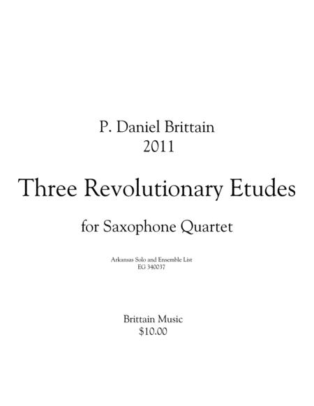 Three Revolutionary Etudes