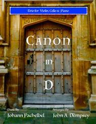 Canon in D (Trio for Violin, Cello and Piano)