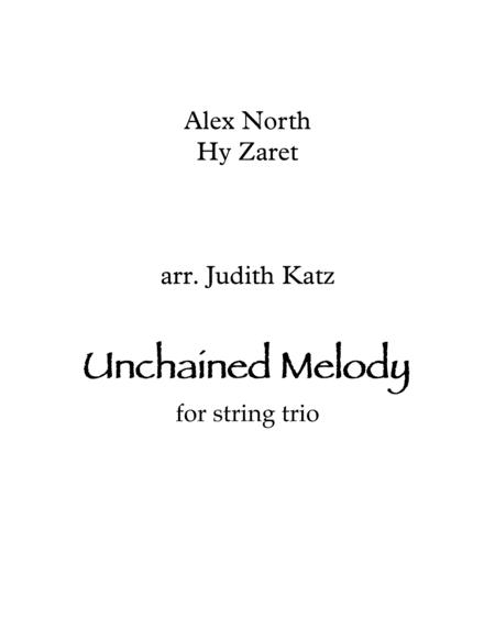 Unchained Melody - for string trio