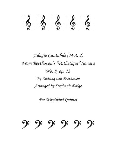 Adagio Cantible from Beethoven's Pathetique Sonata for Woodwind Quintet