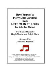 Have Yourself A Merry Little Christmas from MEET ME IN ST. LOUIS