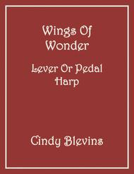 Wings of Wonder, an original solo for Lever or Pedal Harp, from my book