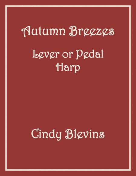 Autumn Breezes, an original solo for Lever or Pedal Harp, from my book