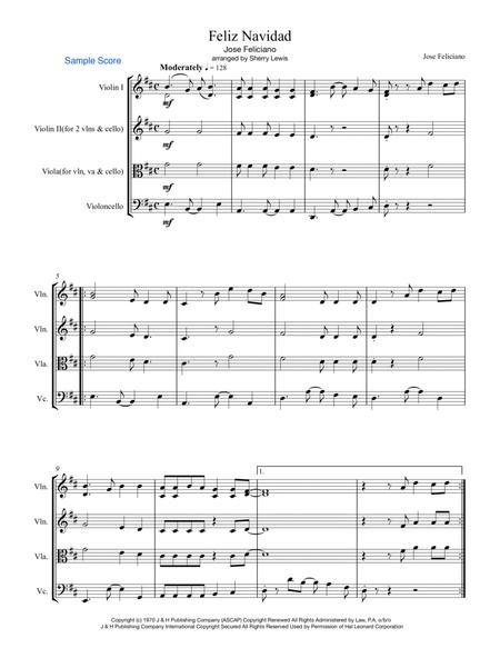 Feliz Navidad STRING TRIO (for string trio)