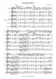 Laundrette Blues! for String Orchestra