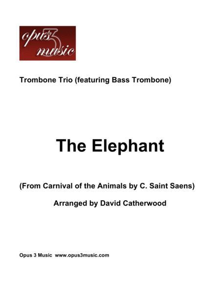 The Elephant - Trombone Trio (featuring Bass Trombone)