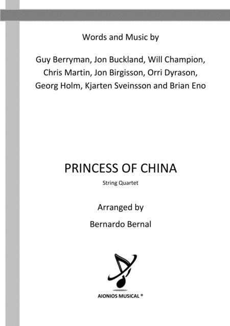 Princess Of China - String Quartet