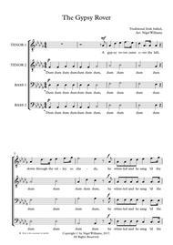The Gypsy Rover, for TTBB choir