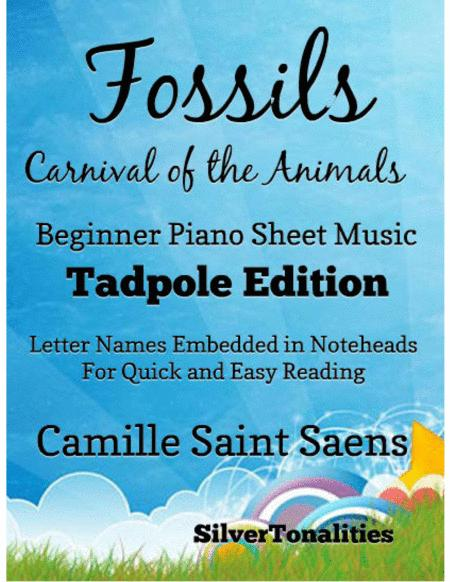 Fossils Carnival of the Animals Beginner Tadpole Edition