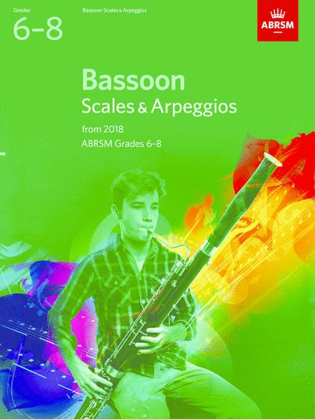 Bassoon Scales & Arpeggios, ABRSM Grades 6-8