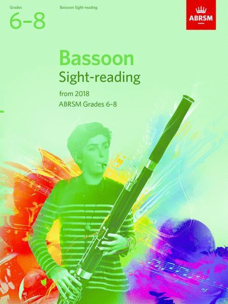 Bassoon Sight-Reading Tests, ABRSM Grades 6-8
