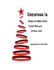 Christmas Is - Percy Faith - Flute Trio