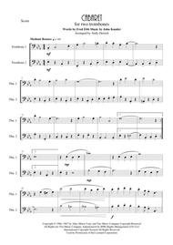 Cabaret for trombone duet