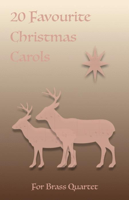 20 Favourite Christmas Carols for Brass Quartet