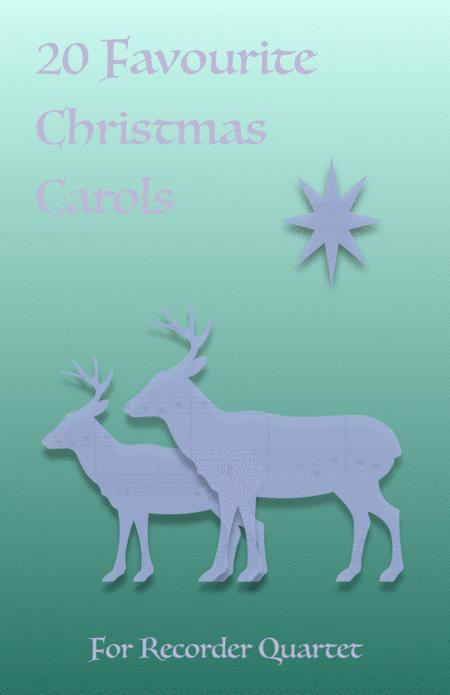 20 Favourite Christmas Carols for Recorder Quartet