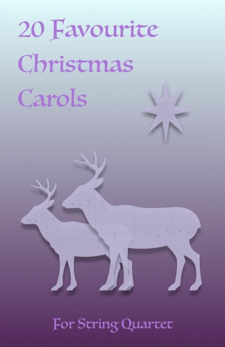 20 Favourite Christmas Carols for String Quartet