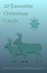 20 Favourite Christmas Carols for Saxophone Quartet SATB