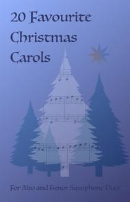 20 Favourite Christmas Carols for Alto and Tenor Saxophone Duet