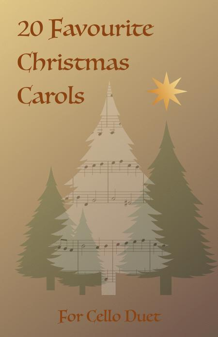 20 Favourite Christmas Carols for Cello Duet