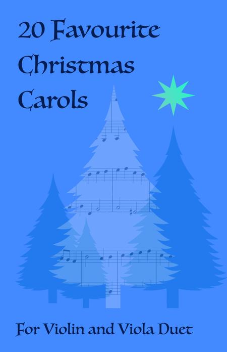 20 Favourite Christmas Carols for Violin and Viola Duet